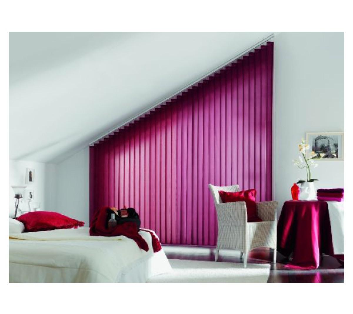 lamellenvorhang vertikal lamellen jalousie vorhang jumbo shop superg nstiger online baumarkt. Black Bedroom Furniture Sets. Home Design Ideas