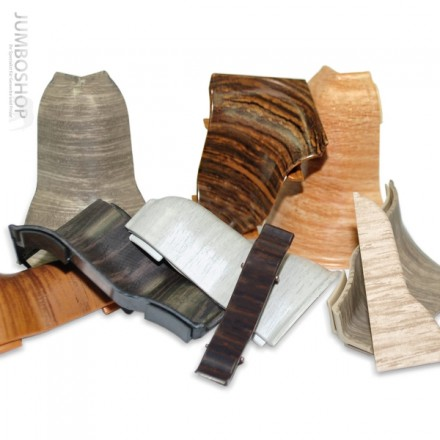 Zubehör passend zum Dekor Ihrer Teppichleisten Sockelleisten