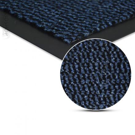 Schmutzmatte als Fußmatte Schmutzfangmatte waschbar BLAU
