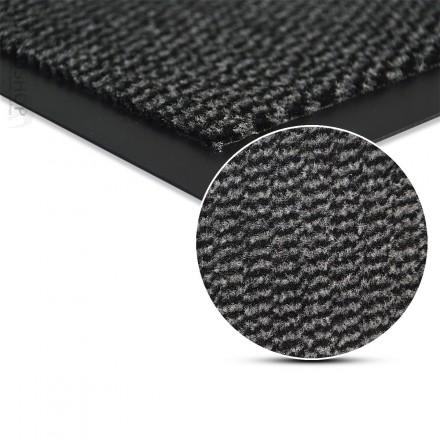 Schmutzmatte als Fußmatte Schmutzfangmatte waschbar GRAU