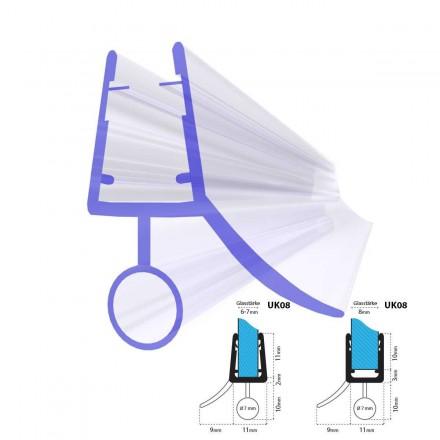 Duschdichtung UK08 Duschtürdichtung Duschkabinendichtung