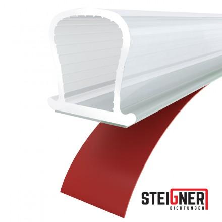 Silikondichtung Omegadichtung SFD01 OMEGA-Profil Dichtung Fensterdichtung selbstklebend
