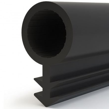 Türdichtung SCHLAUCHDICHTUNG Türgummi 8mm STD03 SCHWARZ Universal Dichtband Zimmertürdichtung