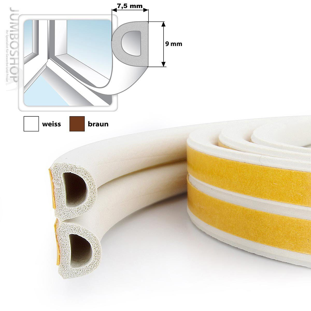 fensterdichtung gummidichtung d profil fenster dichtung. Black Bedroom Furniture Sets. Home Design Ideas