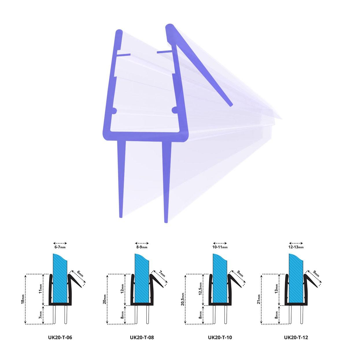 duschdichtung uk20 duscht rdichtung jumbo shop. Black Bedroom Furniture Sets. Home Design Ideas
