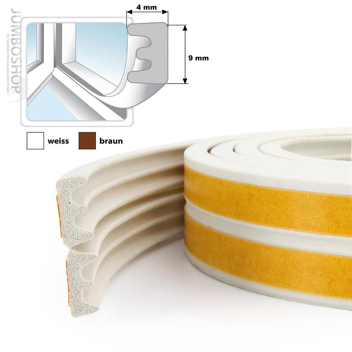 fensterdichtung gummidichtung e profil fenster dichtung selbtsklebend fensterdichtung braun. Black Bedroom Furniture Sets. Home Design Ideas