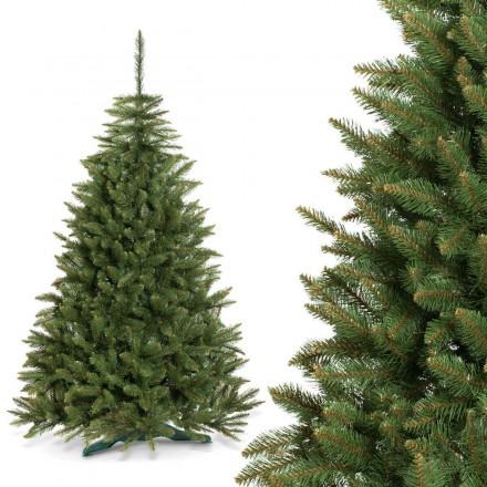 220cm künstlicher Weihnachtsbaum Fichte NATUR Tannenbaum künstlich