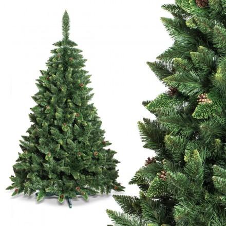 220cm künstlicher Weihnachtsbaum KIEFER *NATUR-GRÜN* Tannenbaum künstlich