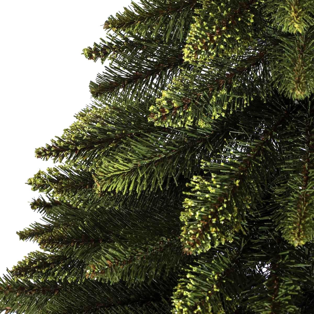 150cm k nstlicher weihnachtsbaum fichte naturstamm natur gr n tannenbaum k nstlich - Weihnachtsbaum baumarkt ...