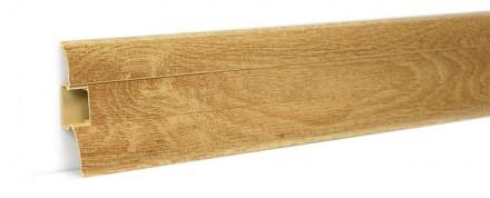 2,50m Fußleisten Fußbodenleisten PVC 62mm x 23mm Sockelleisten