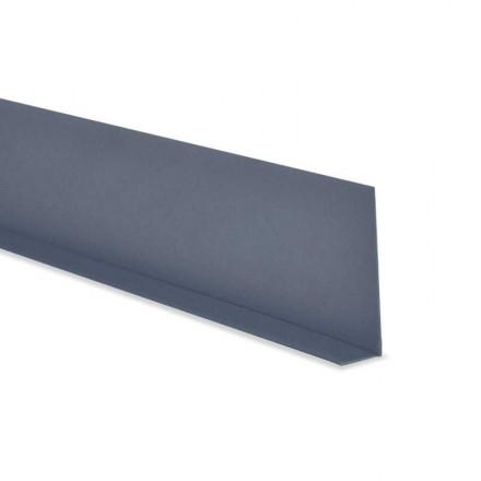 Weichsockelleiste selbstklebend Knickleiste Profil 50x15mm Fensterleiste Flachleiste Knickwinkel