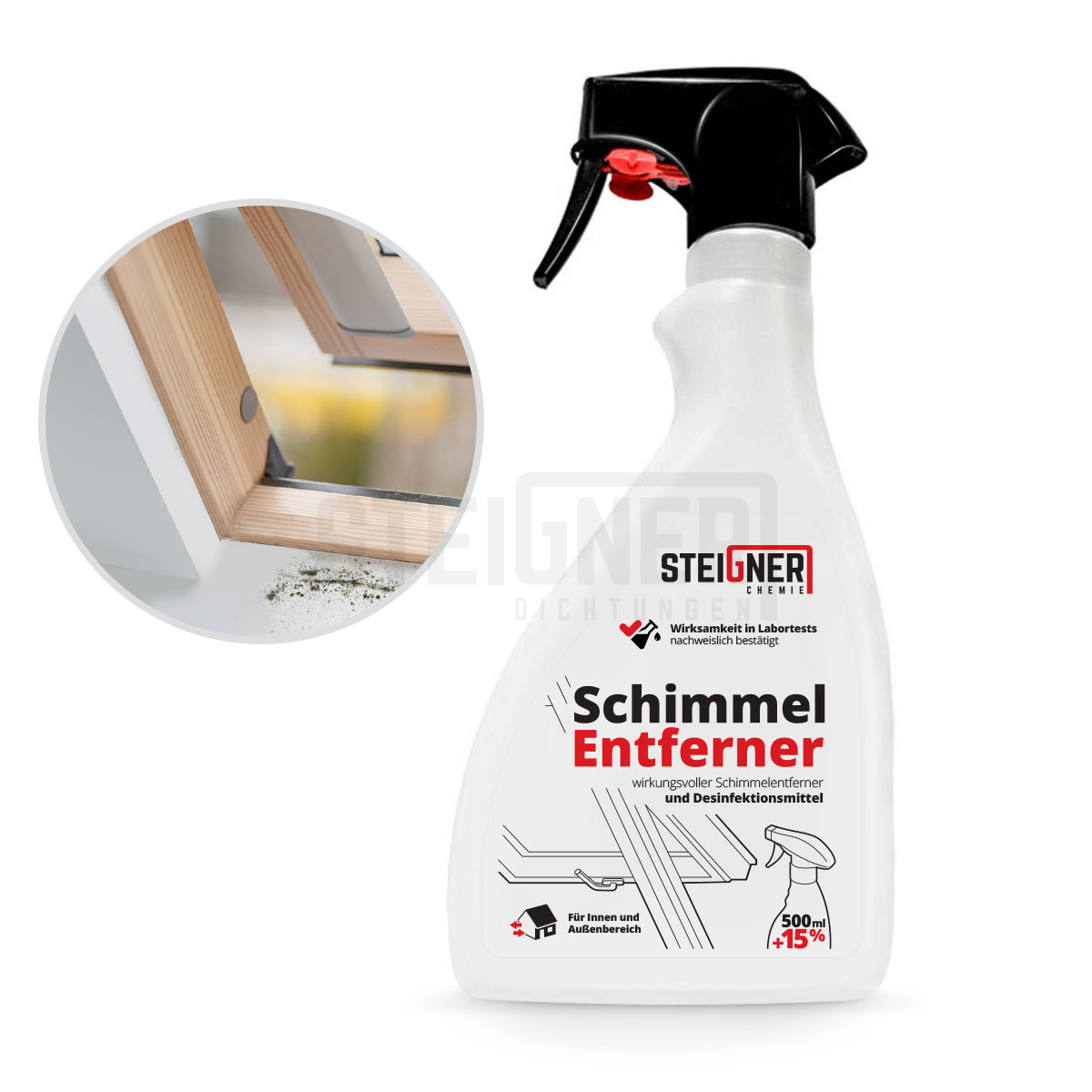 schimmelentferner mittel gegen schimmel reiniger entferner anti schimmel spray ebay. Black Bedroom Furniture Sets. Home Design Ideas