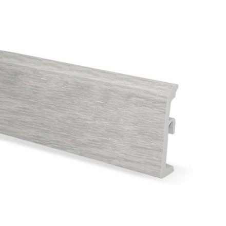 2,50m Fußleisten Fußbodenleisten PVC Sockelleiste Kunststoff ULTIMA 80mm