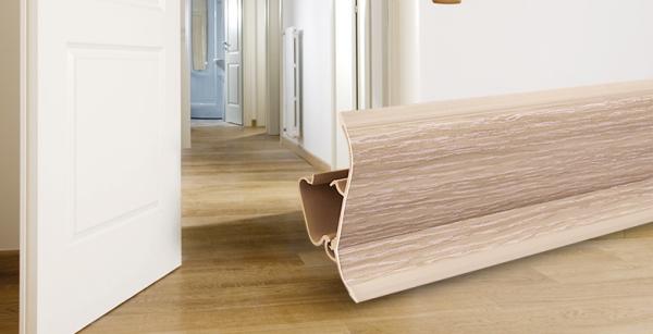 neu im sortiment pvc sockelleisten im echtholz look jumbo blog. Black Bedroom Furniture Sets. Home Design Ideas