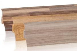 Neu im Sortiment: PVC Sockelleisten im Echtholz-Look