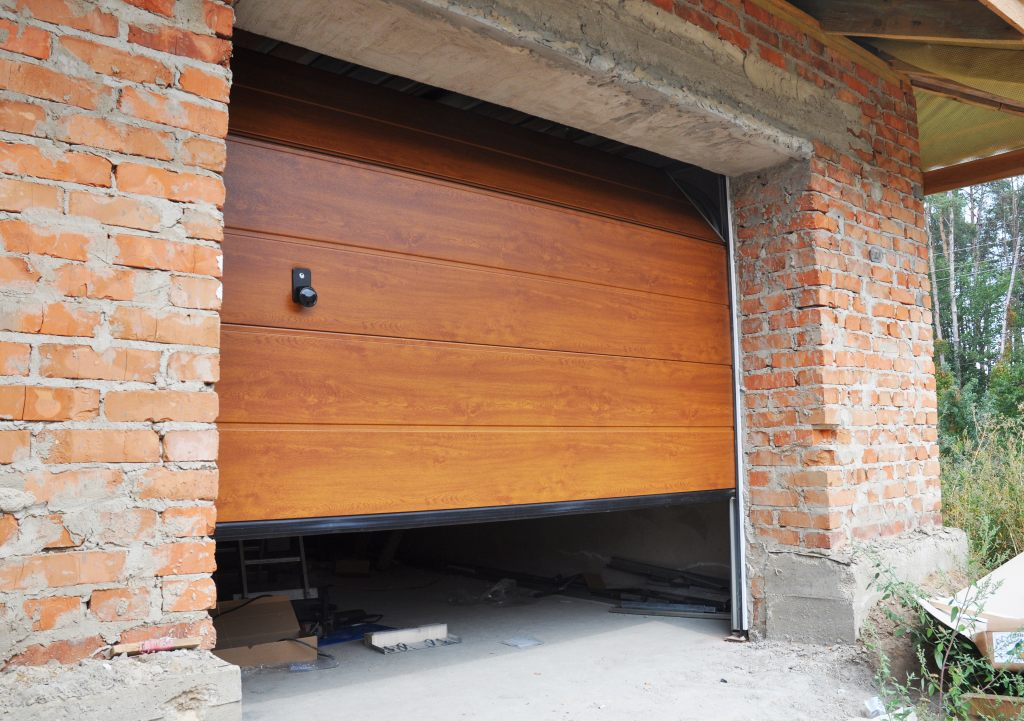 Montage einer Garagendichtung