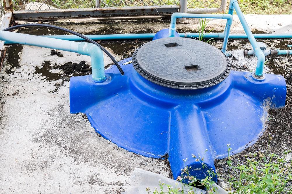 Unterirdische Wasserbehälter