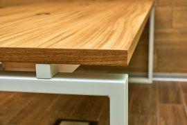 Die Verbindung von Holz und Metall