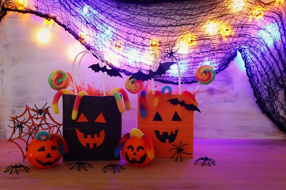 halloweenmonster tueten