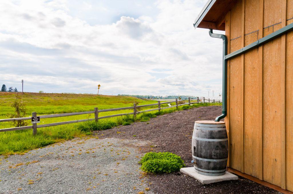 regenwasser-sammeln-dachrinne-wasser