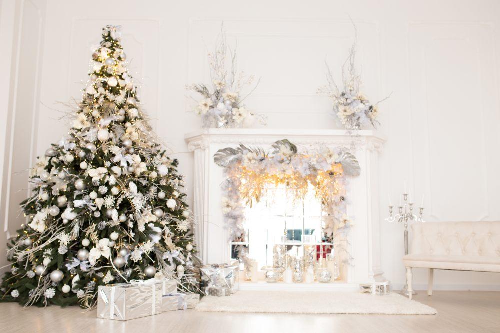weiss-gold-weihnachtsdeko-feng-shui