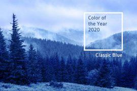 Pantone Farbe des Jahres 2020 – Classic Blue als Farbton der Ruhe und Beständigkeit