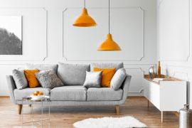 Schöner Wohnen – wie kräftige Farbe unsere Wohnung verändert