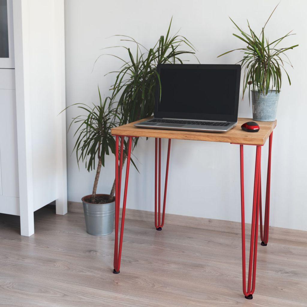 rote-tischbeine-farbe-tischkufen