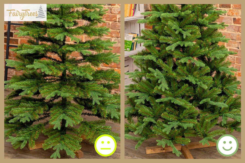 das-volumen-beim-weihnachtsbaum-aufbau