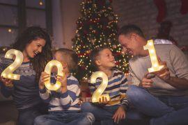 Silvester zu Hause – 7 tolle Ideen, wie man das Jahr 2021 begrüßen kann.