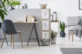 Homeoffice – 5 Super Ideen, wie man schnell und einfach ein Büro zu Hause einrichtet