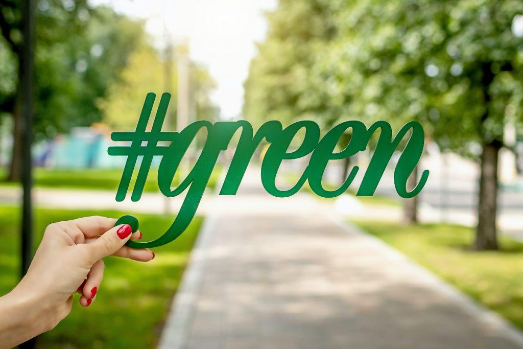 hasztag-green