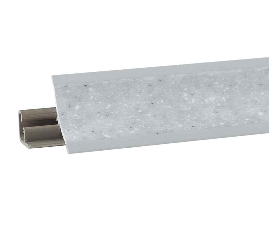 Abschlußleisten für küchenarbeitsplatten  MUSTER Winkelleisten Küche Arbeitsplatte Wandabschlussleisten PVC ...