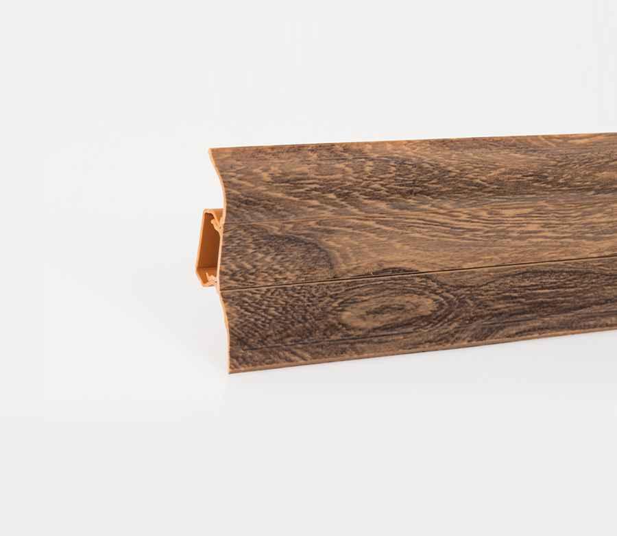 sockelleisten pvc fussleisten 52mm x 28mm aus kunststoff. Black Bedroom Furniture Sets. Home Design Ideas