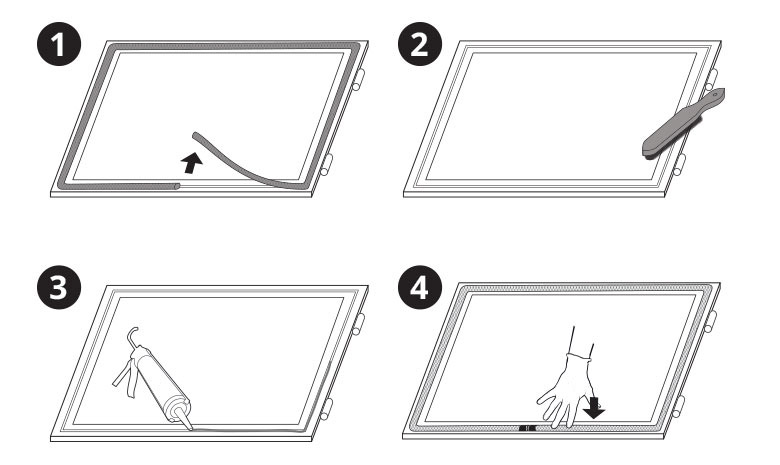 glasfaser dichtschnur ofendichtschnur skd02 montagekleber kamin dichtschnur dichtschnur. Black Bedroom Furniture Sets. Home Design Ideas