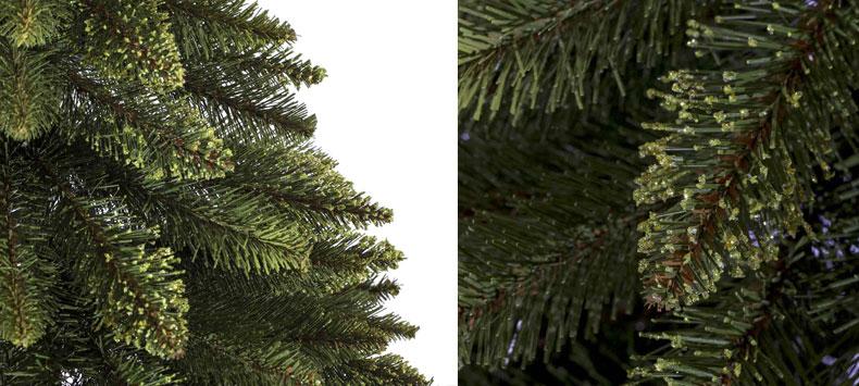 k nstlicher weihnachtsbaum fichte naturstamm tannenbaum. Black Bedroom Furniture Sets. Home Design Ideas