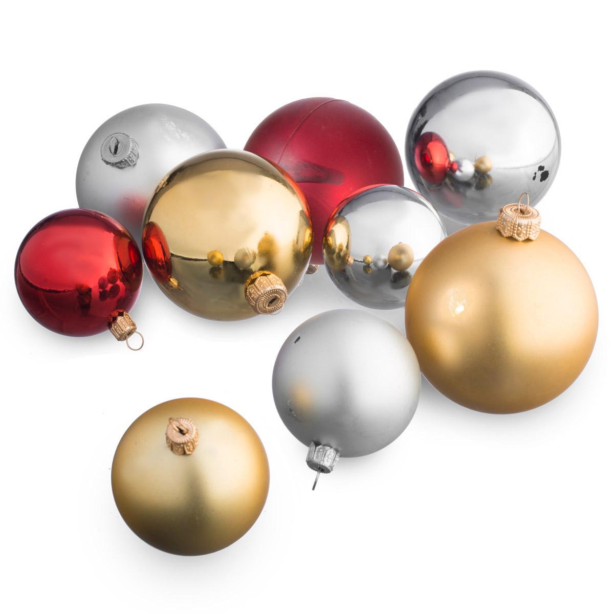 weihnachtskugel christbaumkugel christbaumschmuck haken aufh nger baumkugel ebay. Black Bedroom Furniture Sets. Home Design Ideas