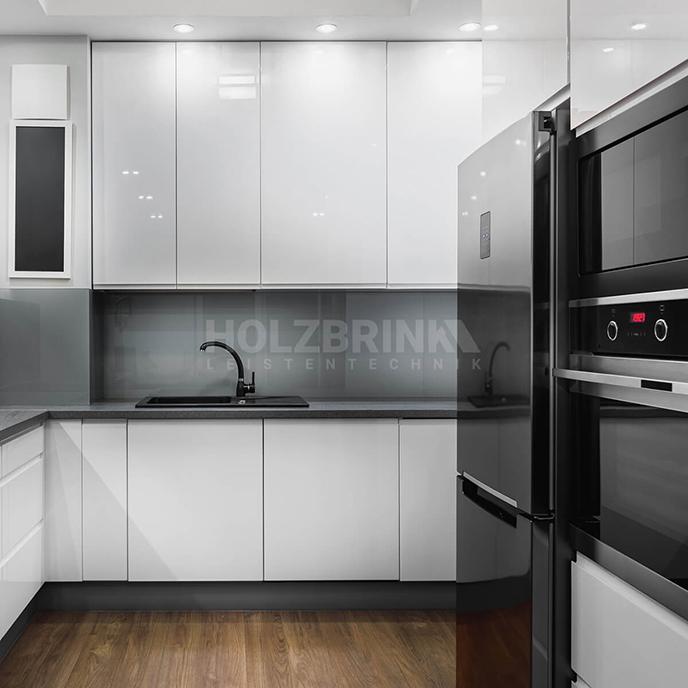 Sockelleiste Sockelblende Küchensockel für Einbauküche Arbeitsplatte 100mm Höhe