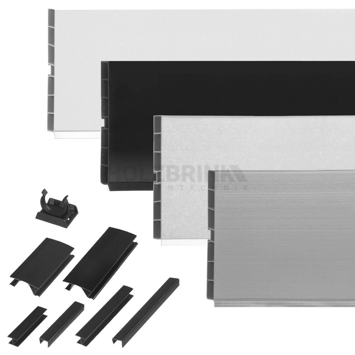 k chensockel sockelleiste sockelblende einbauk che arbeitsplatte inkl zubeh r ebay. Black Bedroom Furniture Sets. Home Design Ideas