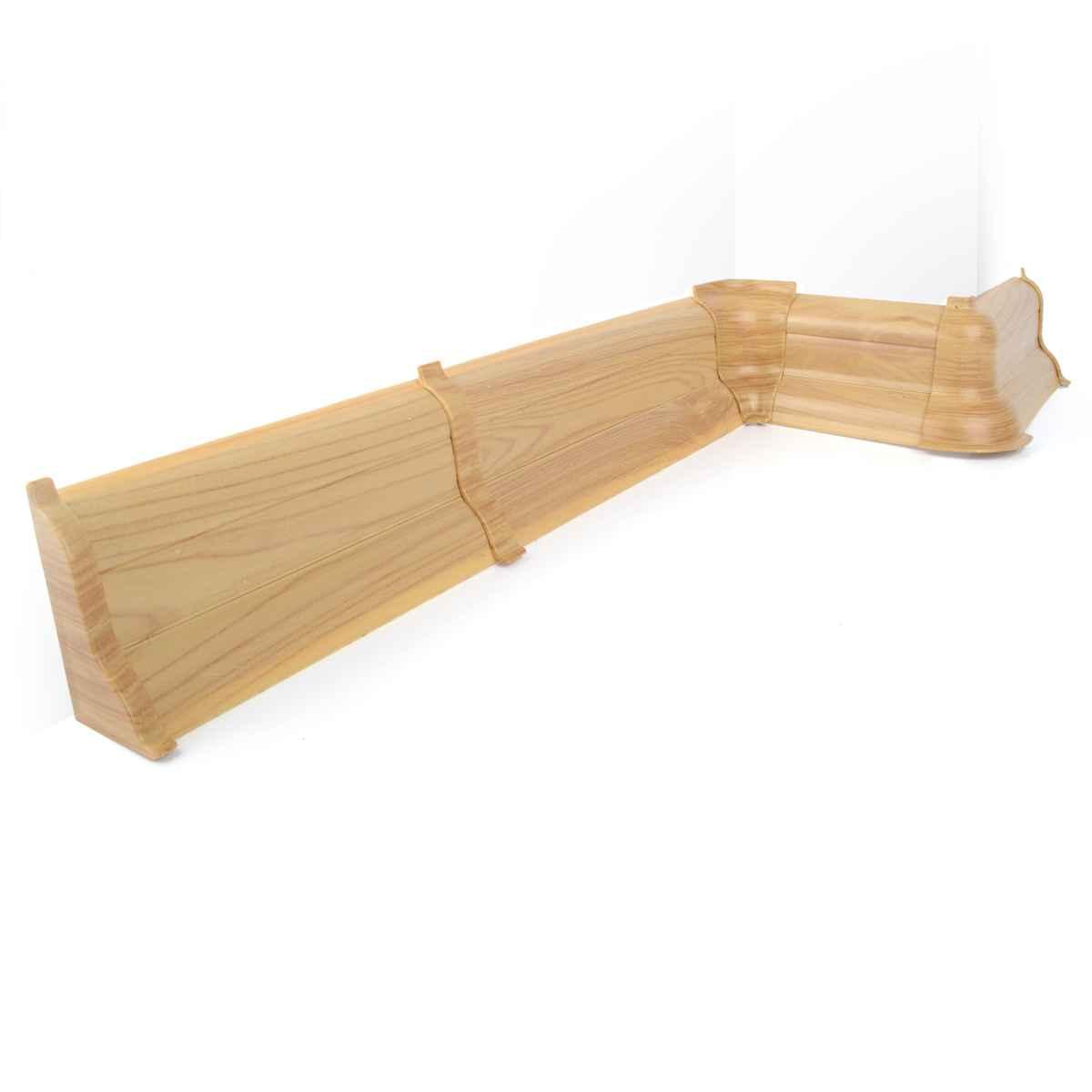 Hervorragend Fussleisten Sockelleisten PVC Kunstoff Laminat Sockelleiste  EX29