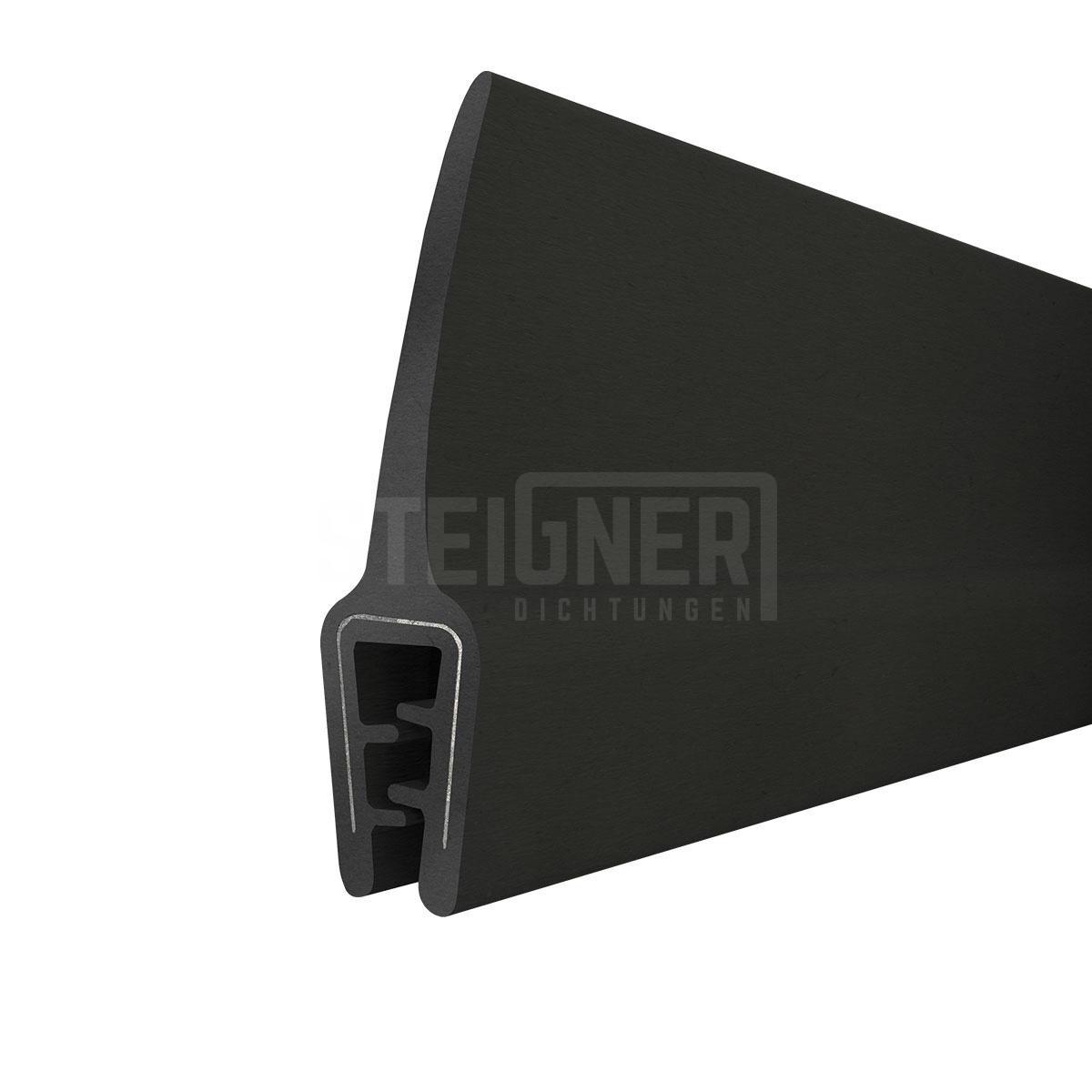 meterware dichtungsprofil t 45 kofferraumdichtung t rdichtung kantenschutz keder ebay. Black Bedroom Furniture Sets. Home Design Ideas