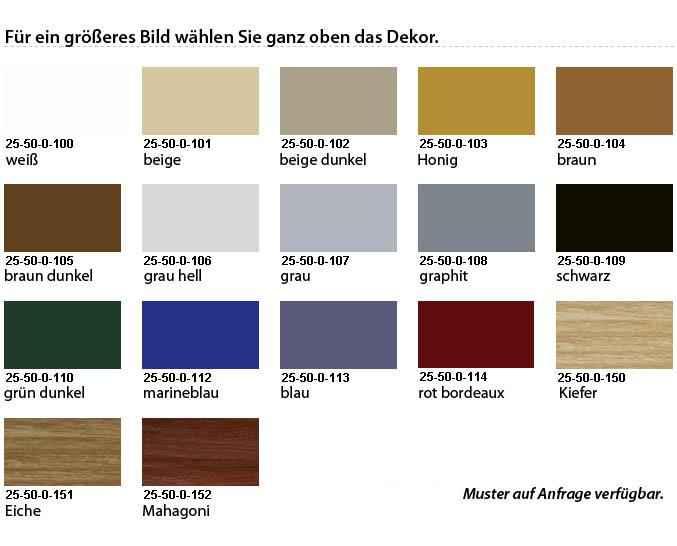 Teppichleiste aus PVC