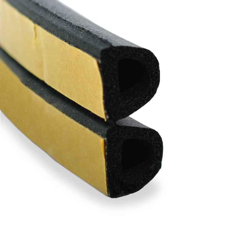 gummidichtung 1m gummiprofil dichtung selbstklebend. Black Bedroom Furniture Sets. Home Design Ideas