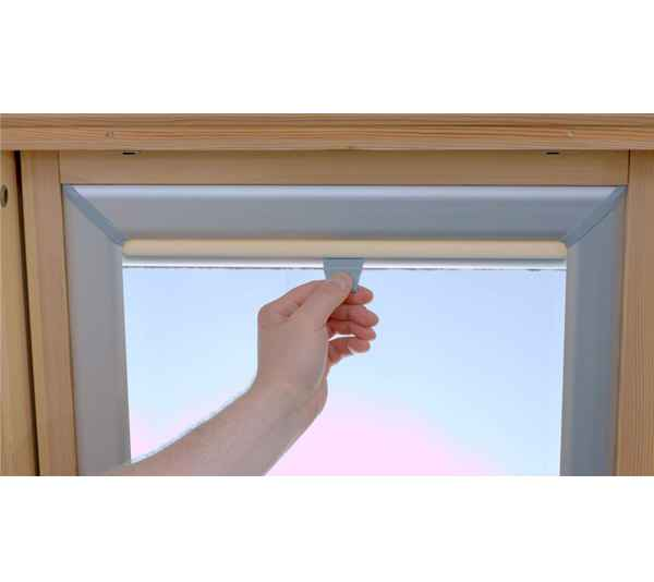 velux roto fakro dachfenster rollo verdunkelungsrollo ebay. Black Bedroom Furniture Sets. Home Design Ideas