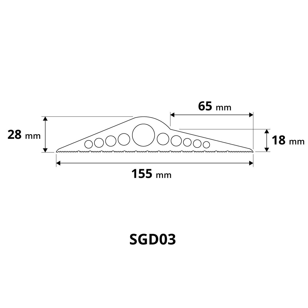 Bodenabdichtung-Garagentor-Dichtung-Bodenplatte-Gummilippe-Tuerschwellendichtung