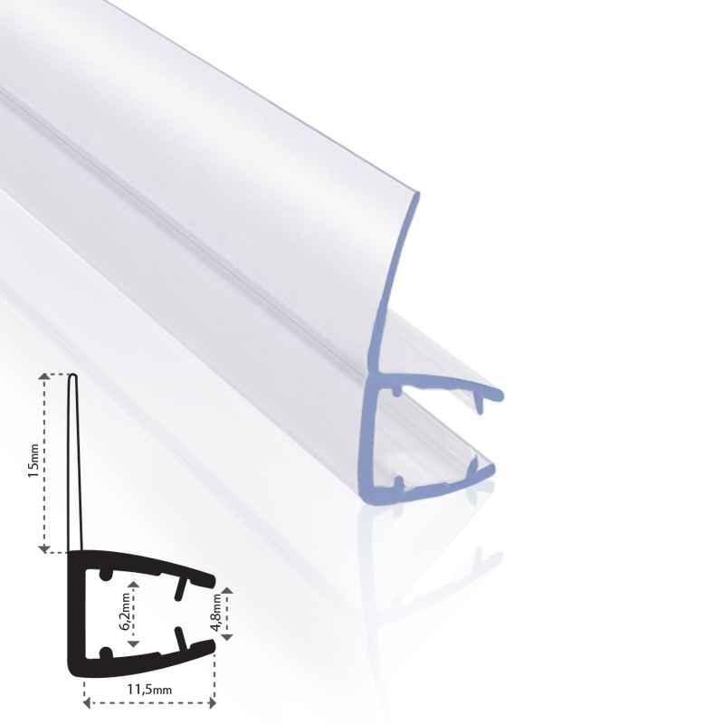 Ersatzdichtung-Wasserabweiser-Duschdichtung-Schwallschutz-Duschkabine-Bad