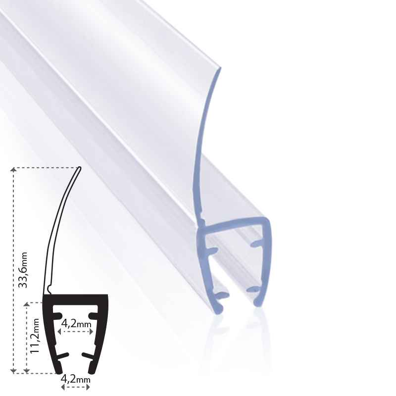Replacement Seal Screen Water Deflector Door Shower