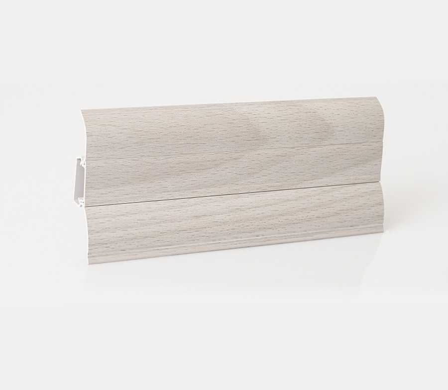 muster sockelleisten fussleisten laminat aus kunststoff mit kabelkanal 62x23mm ebay. Black Bedroom Furniture Sets. Home Design Ideas