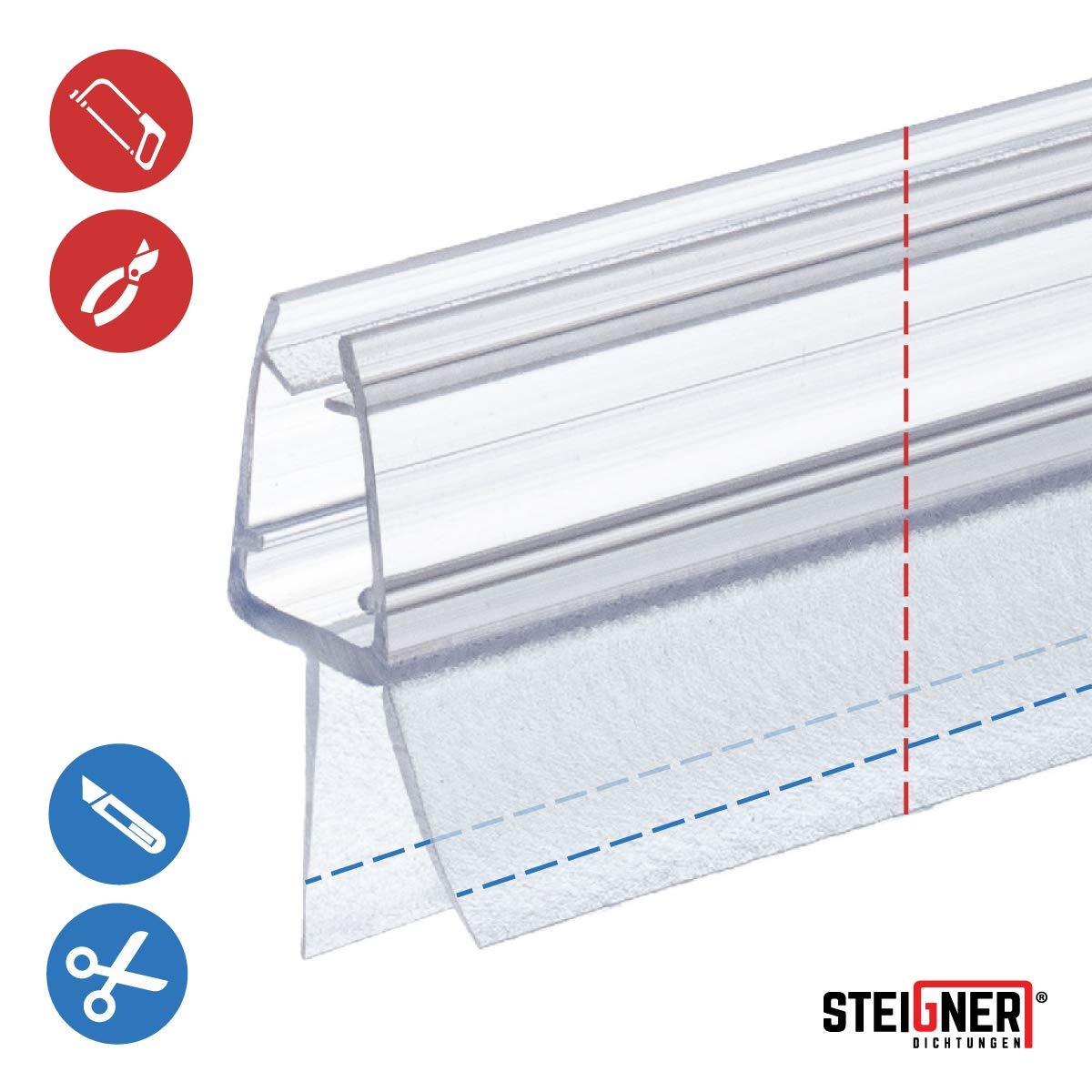 Duschdichtung 3,5-8mm duschprofil Wasserabweiser de Rechange Joint uk01//uk02