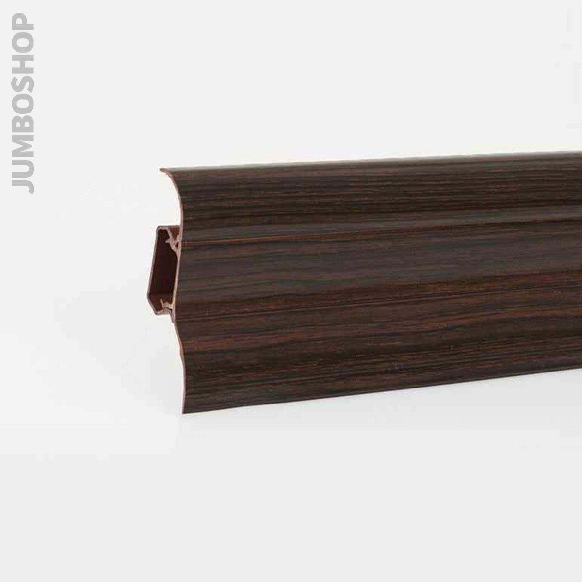 fu leisten mit kabelkanal fussleisten sockelleisten pvc. Black Bedroom Furniture Sets. Home Design Ideas